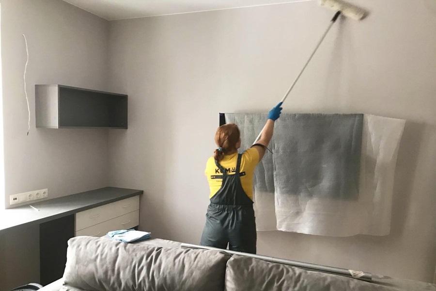 Уборка квартиры после ремонта КУМЮА